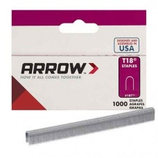 T18 Round Crown Staple, different lengths