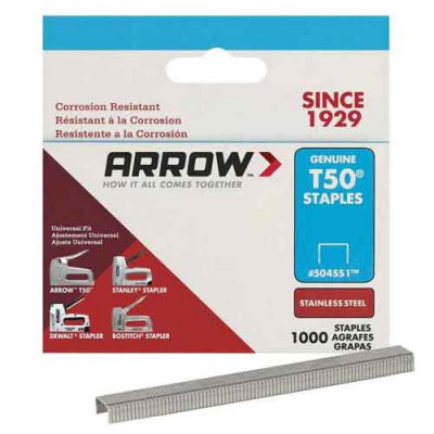 T50 Staple SS, different lengths
